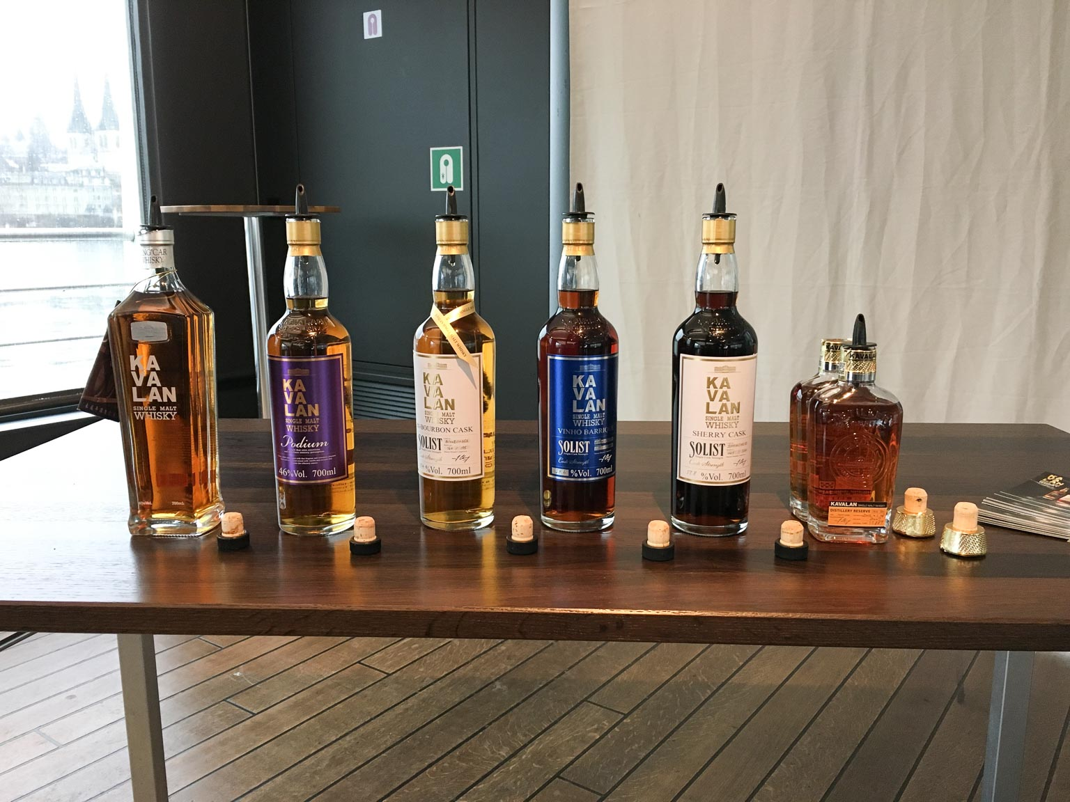 Kavalan Tasting Beim Whiskyschiff Luzern 2016 Drambo