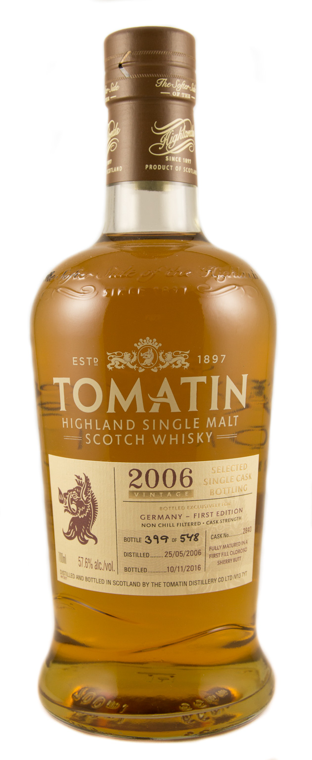 Tomatin 2006 Germany First Edition