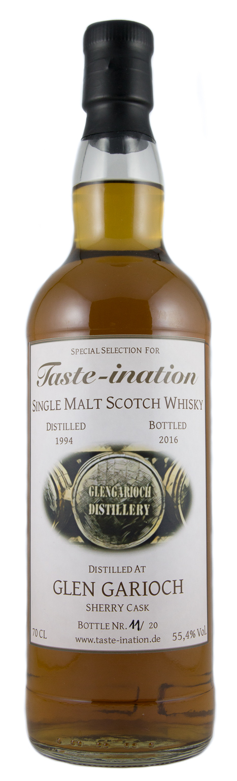 Glen Garioch 1994-2016 Taste-ination