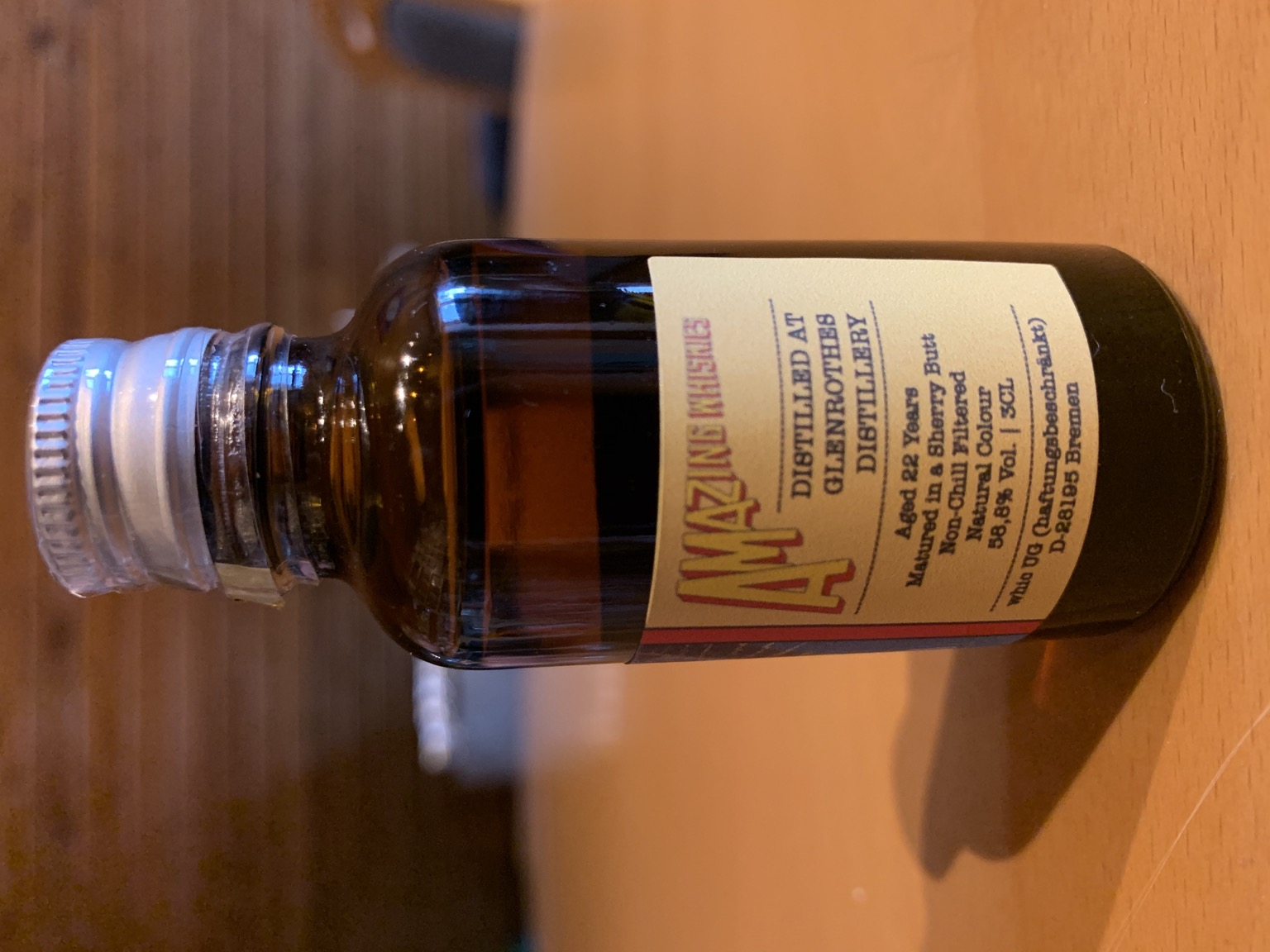 Glenrothes 22yo - Whic Amazing Whiskies