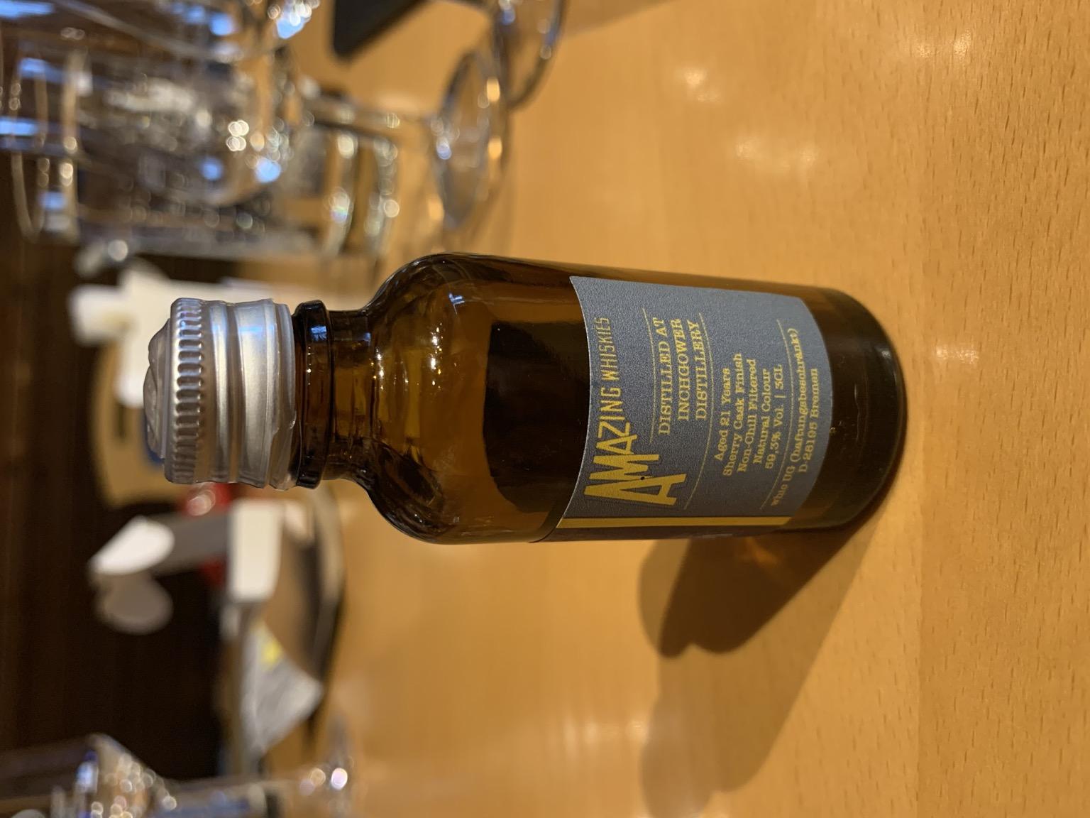 Inchgower 21yo - Whic Amazing Whiskies